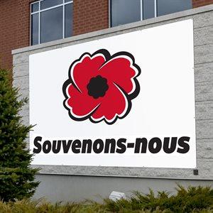 BANNER SOUVENONS-NOUS15' X 20'