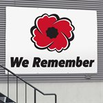 BANNER WE REMEMBER 9' X 12'