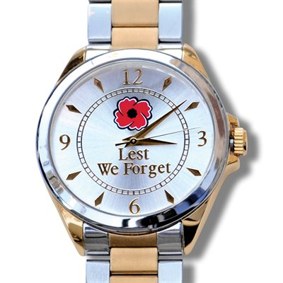 "MEN'S WATCH ""LEST WE FORGET"""