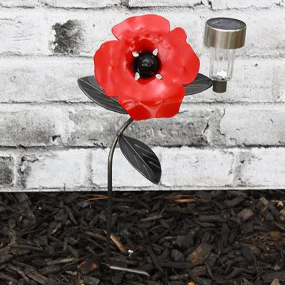 POPPY SOLAR LIGHT FOR GARDENS