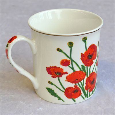 POPPY COFFEE CUP