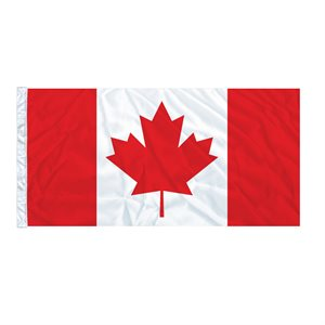 FLAG CANADA 6' X 3' SLEEVED