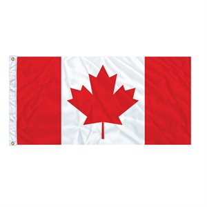 "FLAG CANADA 54"" X 27"" GROMMET (2)"
