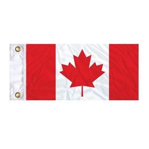"FLAG CANADA 18"" X 9"" GROMMET (2)"