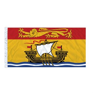 FLAG NEW BRUNSWICK  6' X 3' SLEEVED