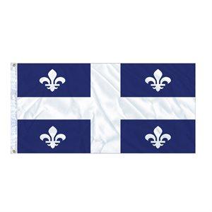 FLAG QUEBEC  6' X 3' GROMMET (2)