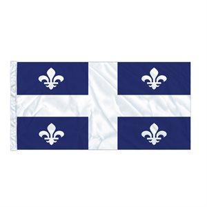 FLAG QUEBEC  6' X 3' SLEEVED