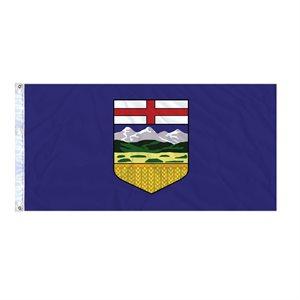 FLAG ALBERTA  6' X 3' GROMMET (2)