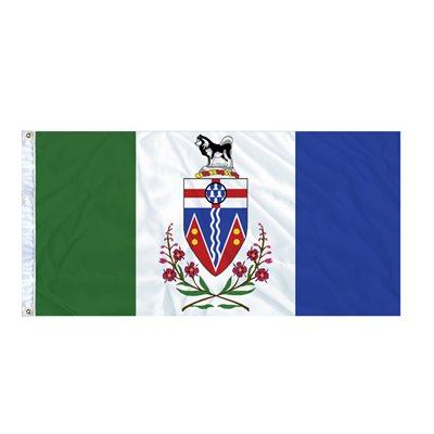 FLAG YUKON  6' X 3' GROMMET (2)