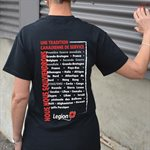 T-SHIRT LEGACY - SMALL (FRENCH)