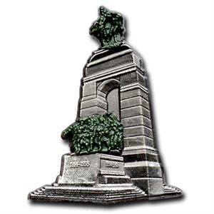 LAPEL PIN NATIONAL WAR MEMORIAL