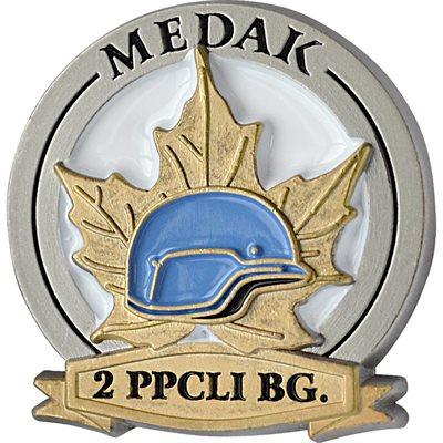 Épinglette commémorative de la Bataille de la poche de Medak