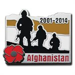 AFGHANISTAN COMMEMORATIVE PIN