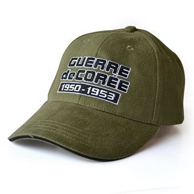 BALL CAP GUERRE DE CORÉE (FRENCH)